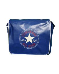 Converse Retro flapbag navy blue - Tas Plus Hoorn