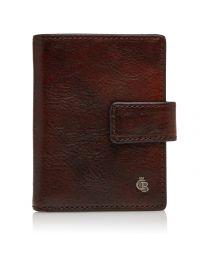 Mini wallet 10 pasjes RFID - Cognac