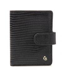 Mini wallet 10 pasjes RFID reptiel