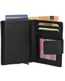 Lederwaren Danielle LD Leren portemonnee voor cardprotector met lipje online kopen - Tas Plus - Tassenwinkel Hoorn