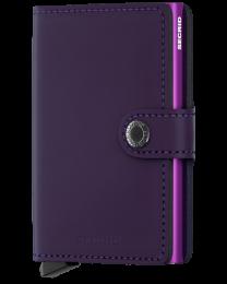 Miniwallet-Matte Purple
