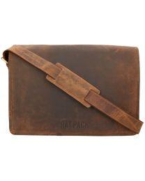 Rat Pack Buffalo 15 inch postmanbag met klep online kopen - Tas Plus - Tassenwinkel Hoorn