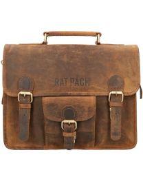 Rat Pack Rusty 13 inch laptoptas met klep online kopen - Tas Plus - Tassenwinkel Hoorn